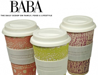 Biodegradable reuseable coffee cups