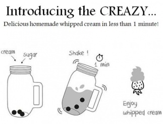 How to whip cream quickly by hand