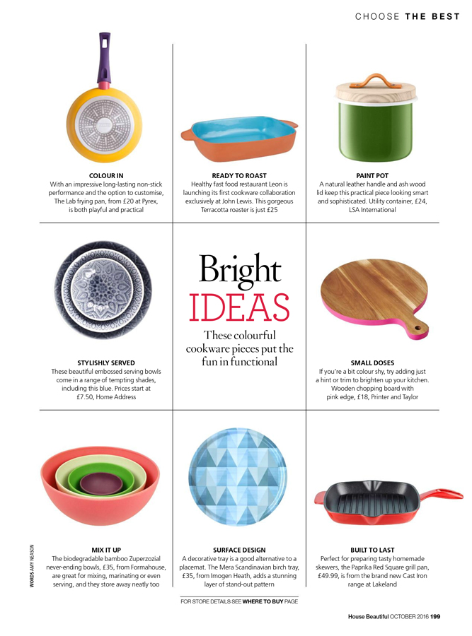 Bright ideas for the kitchen