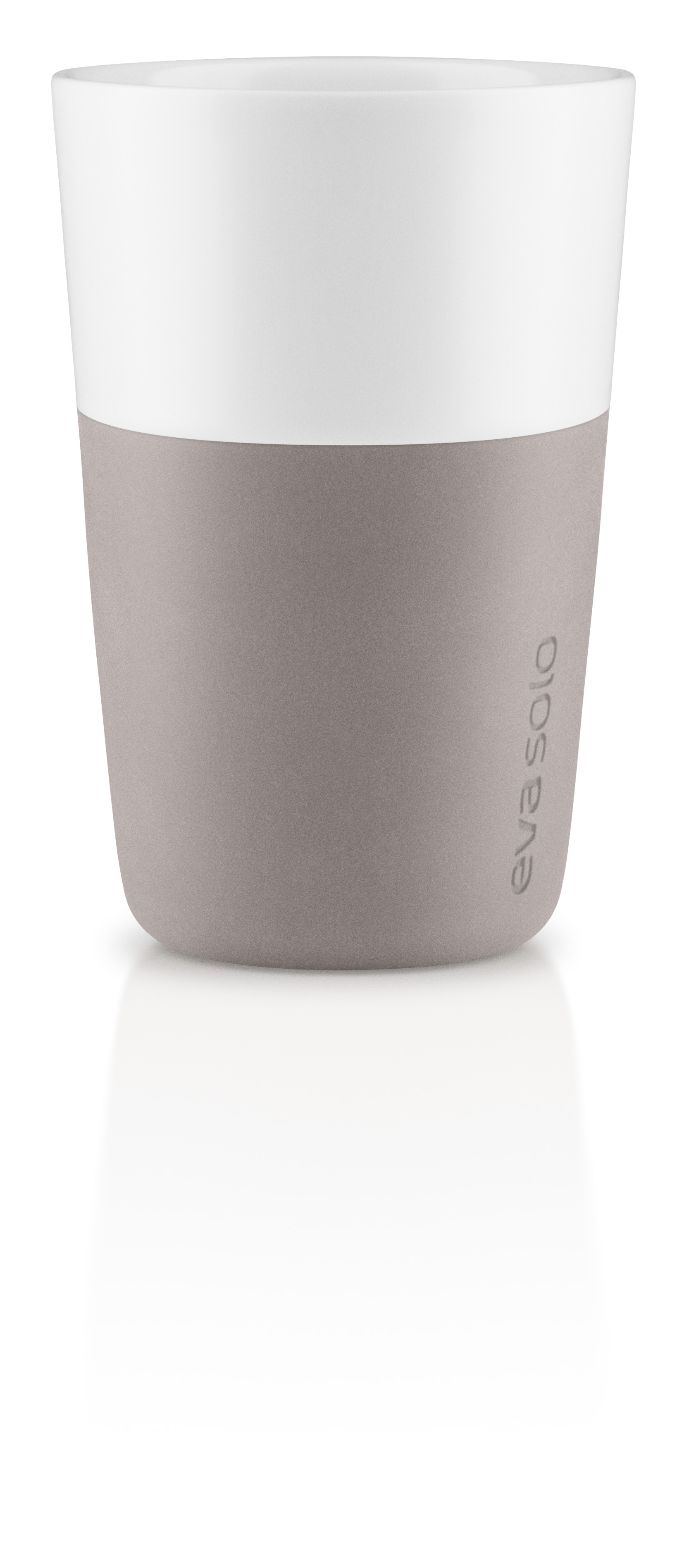2 Cafe Latte tumbler Warm grey