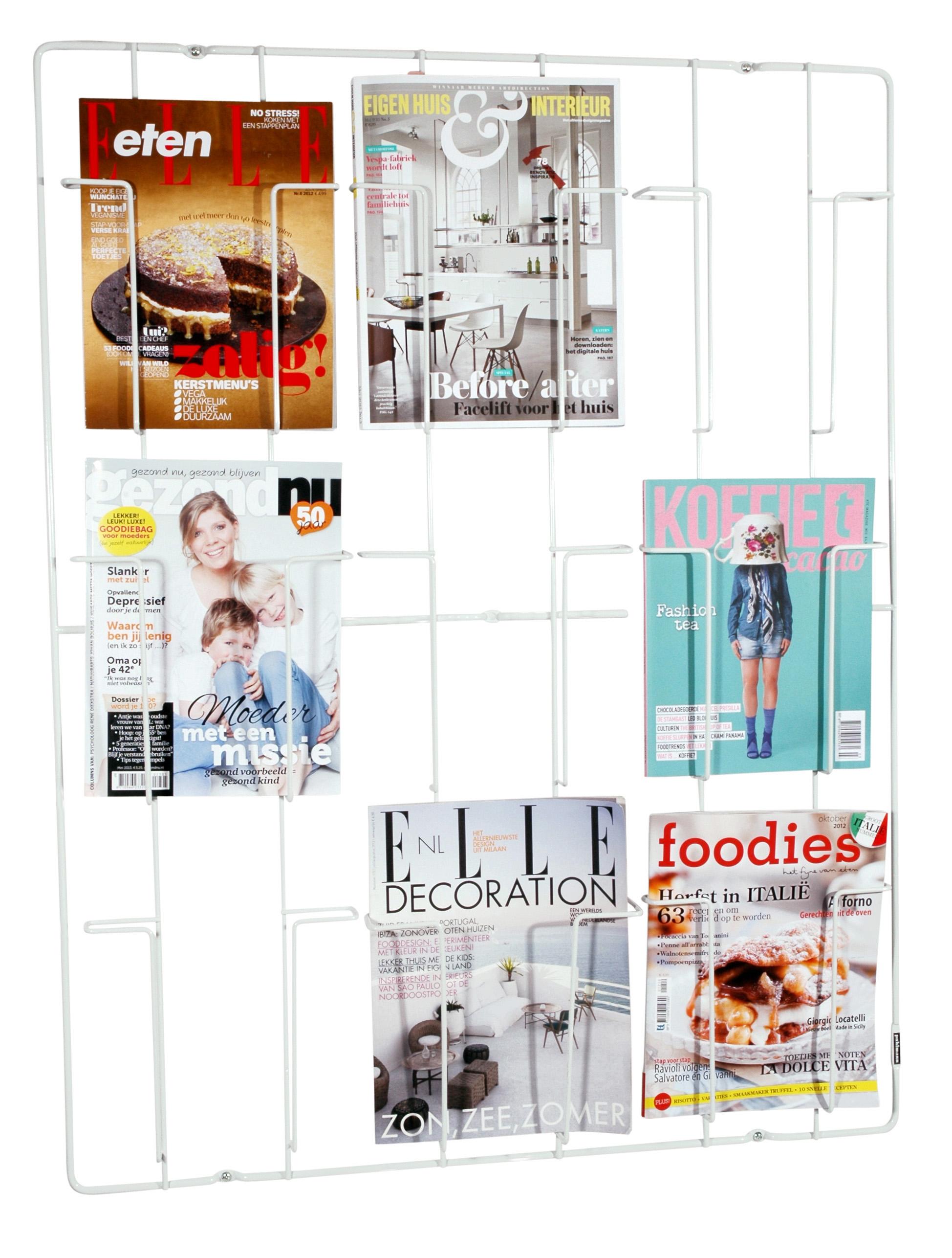Formahouse | Gifts / Novelty / FRAME-9 magazine wallrack WHITE