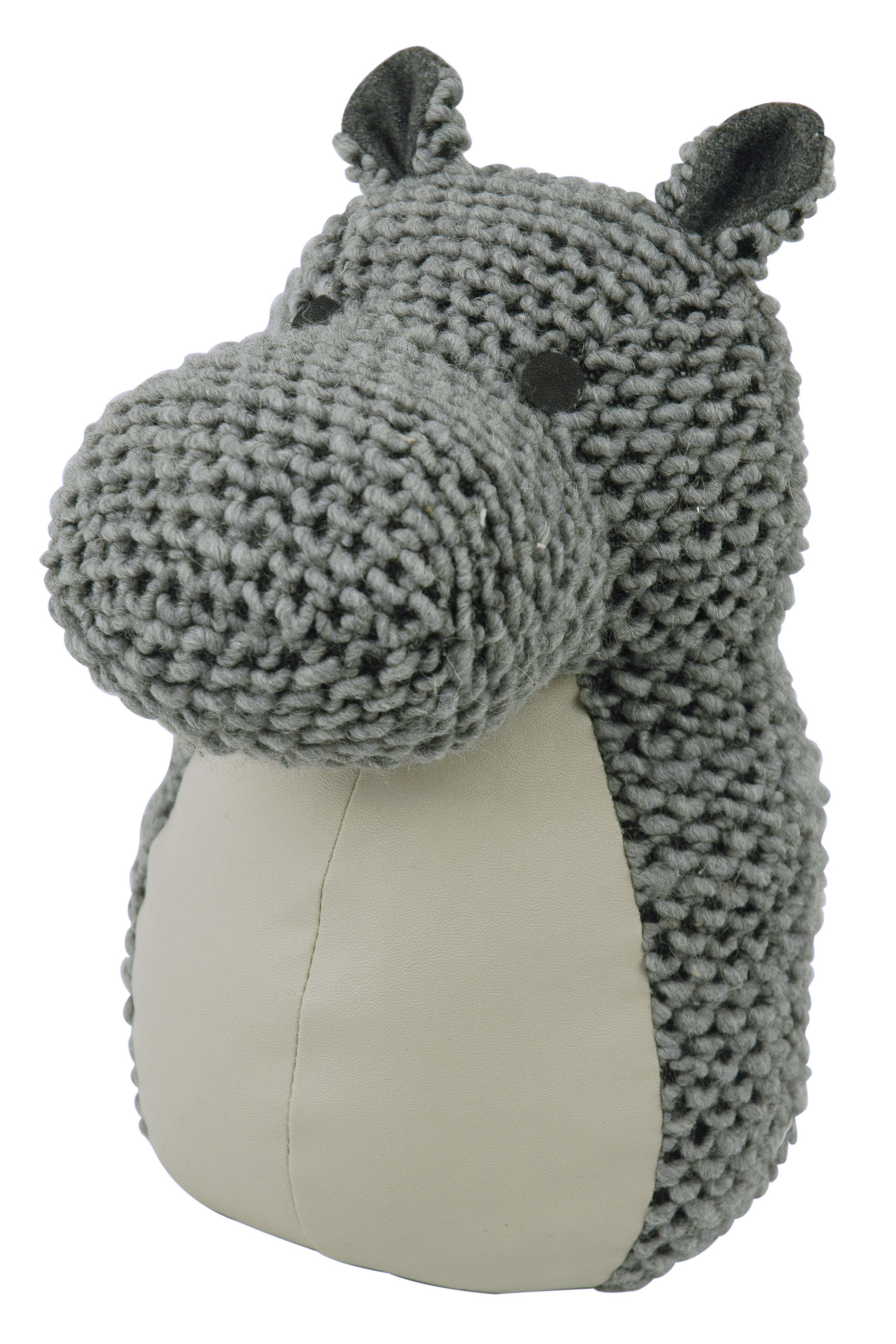 Formahouse Gifts Novelty ROCKY HIPPO Door Book Stopper