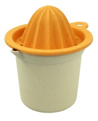 SQUEEZE-INN POT citrus press White/Orange