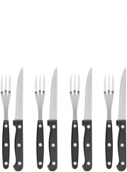 BBQ cutlery 4 forks/4 knives