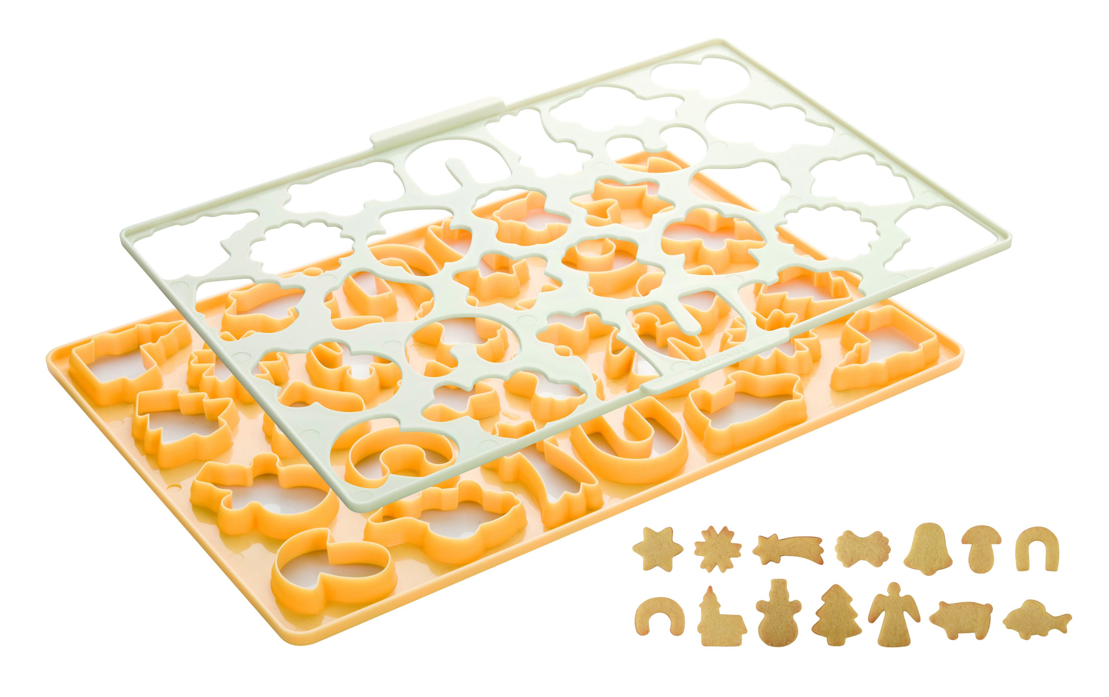 Christmas Cookie Cutting Sheet Delicia