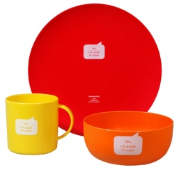 JUST SUGAR STARTER KIT SUNNY red, yellow & orange