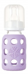 Lifefactory 4oz Baby Bottle - Lilac