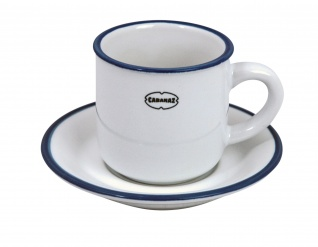ESPRESSO CUP/SAUCER WH