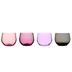 Spectra tumbler, 4-pack, pink/red
