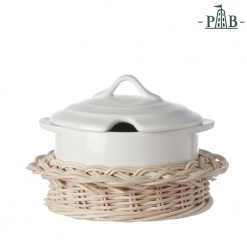 WICKER FOR CHEESE BOWL W/HANDLE CM11(#)