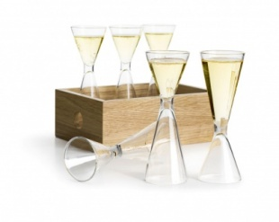 Schnapps set with storage box 6 pcs