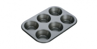 6 Muffins Pan Delicia