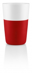 Caffe latte tumbler set of 2 - strawberry red