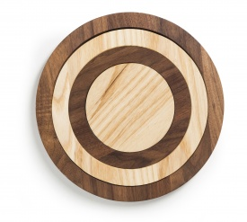 Trivets Inside Cork Black/Natural
