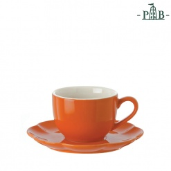 Villadeifiori Tea Cup W/S Cc 200 Orange