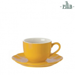 VILLADEIFIORI TEA CUP W/S CC 200 YELLOW