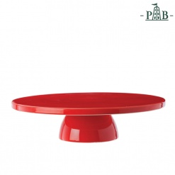 AREZZO CAKE STAND CM 34 RED