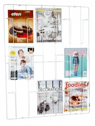 FRAME-9 magazine wallrack WHITE