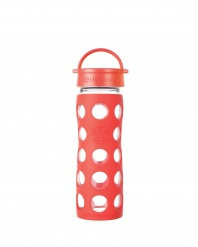 16oz/475ml Glass Bottle with Classic Cap - Poppy