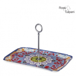 Nador Rect Tray 27X20Cm With Metal Handle