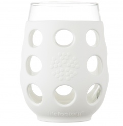 Lifefactory 11oz Wine Glass - Open Stock - Optic White