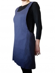 Moshi - Japanese kitchen apron - blue
