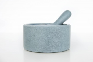 Soapstone Mortar and Pestle - Tube
