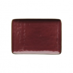 Dining, TablewareCONCERTO (Red) ROSSO MALAGA Rectangular Tray Ø 27 cm; W 19 cm£14.00