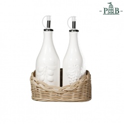 Wicker For Oil And Vinager Bottles