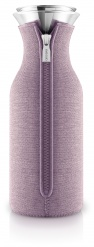 Fridge carafe 1,0 l, Rose woven