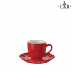 VILLADEIFIORI COFFEE CUP W/S CC 90 RED