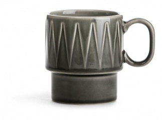 Coffee & More Mug grey