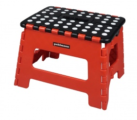 JAMES foldable stool Red