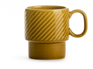 Coffee & More Mug yellow