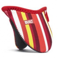 Mini Grip Pot Holder Cranberry Red Stripe