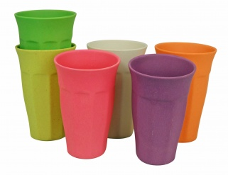 CUPFUL OF COLOUR XL cup/6 Rainbow colours