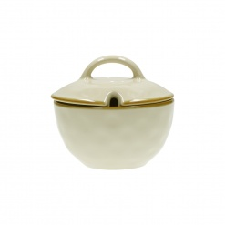 Dining, Tea and CoffeeCONCERTO (Ivory) AVORIO Sugar Bowl with lid Cap. 250 cc; Ø 11 cm£8.90