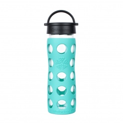 Lifefactory 16 oz Glass Bottle Core 2.0 - Sea Green