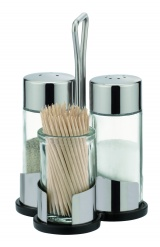 Salt, Pepper And Toothpicks Set Club