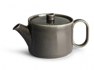 Coffee & More Tea pot grey