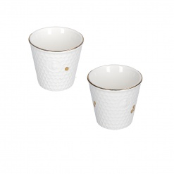 Aperegina Oro Set 2 Cups Without Handle Cc75