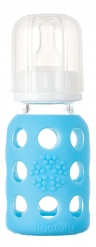 Lifefactory 4oz Baby Bottle - Sky
