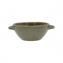 CONCERTO (Grey) GRIGIO TORTORA Souping Bowl with handles Cap. 600 cc