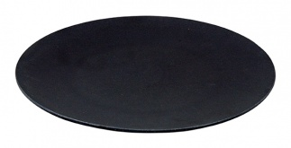 LARGE BITE plate Carbon black
