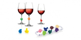 Wine glass tags myDRINK, 12 pcs
