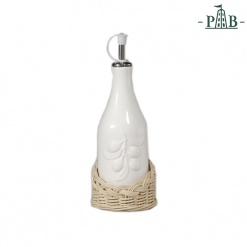 WICKER FOR OIL/VINAGER BOTTLE