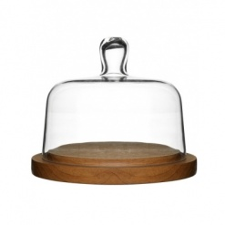 Oval oak Cheesedome