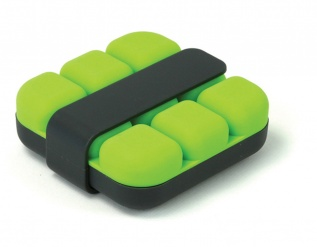 Cube Ice tray - green