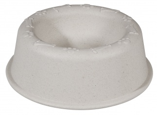 DOGGY BOWL Coconut white