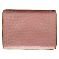 Dining, TablewareCONCERTO (Pink) ROSA ANTICO Rectangular Tray Ø 36 cm; W 26,5 cm£26.00